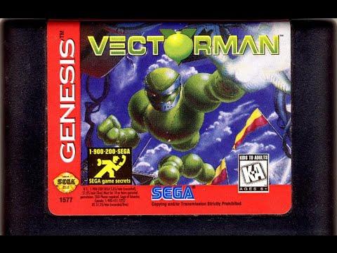 genesis vectorman Sega
