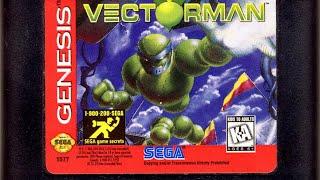 Classic Game Room - VECTORMAN review for Sega Genesis