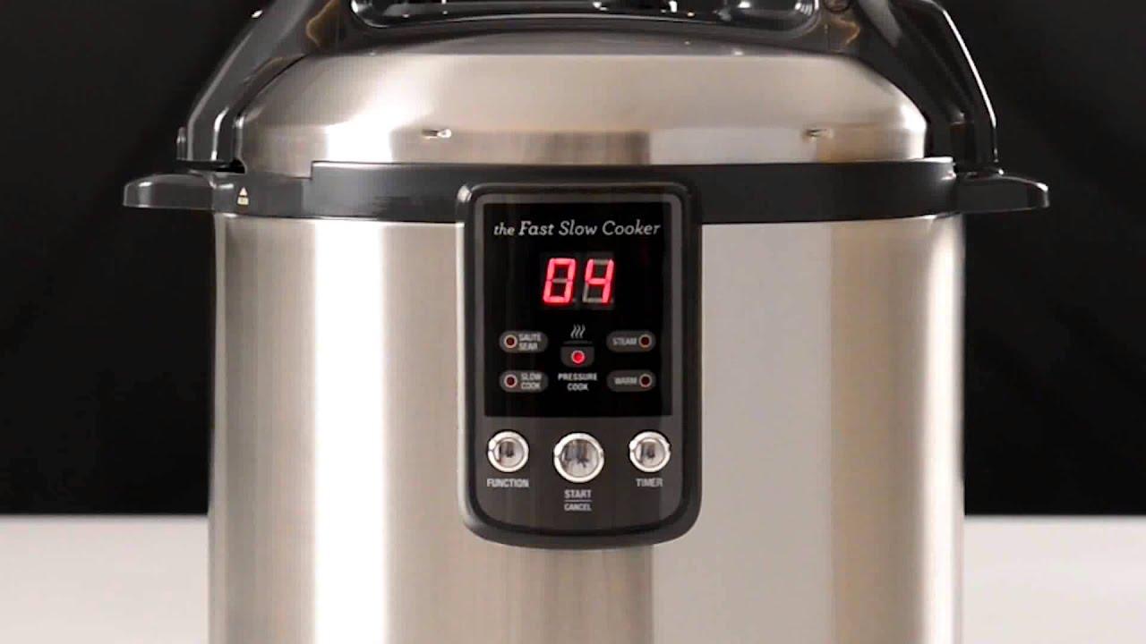 breville fast, slow pressure cooker : tips and tricks
