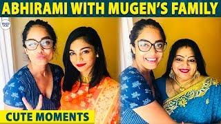 ABHIRAMI'S Fun Moments with MUGEN RAO Family | Sherin | Sandy | LittleTalks