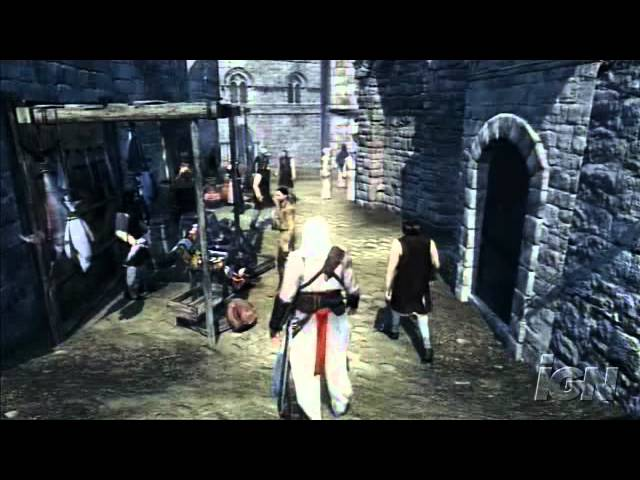 Assassin S Creed Xbox 360 Gameplay X06 First Demo Youtube