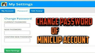 How to Change Password Of A Miniclip Account on Android