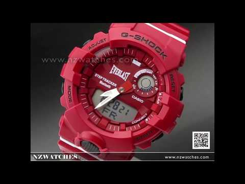 Casio G-Shock X Everlast Bluetooth Ltd Watch GBA-800EL-4A, GBA800EL