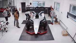 The inspiration behind Nissan's Formula E concept livery
