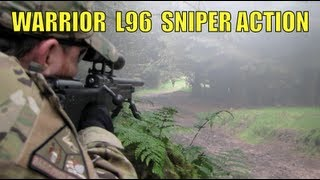 "Airsoft War SNIPER Action Warrior L96 ""Section8"" Scotland"