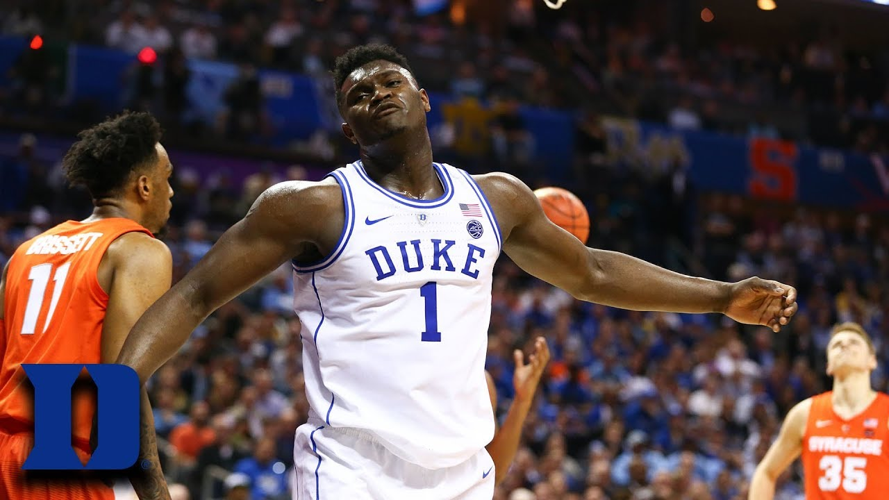 Zion Williamson Highlights In ACC Tournament Return - YouTube