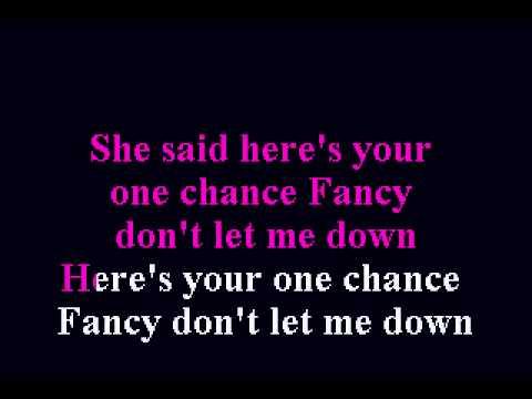 Reba McEntire - Fancy - Karaoke