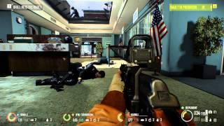 PAYDAY 2 - Jacket gameplay - Bank Heist Overkill