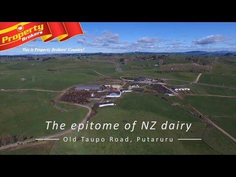 Old Taupo Road, Putaruru