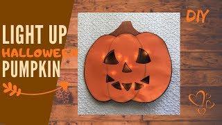 Jack o lantern DIY   Halloween Pumpkin tutorial! Don