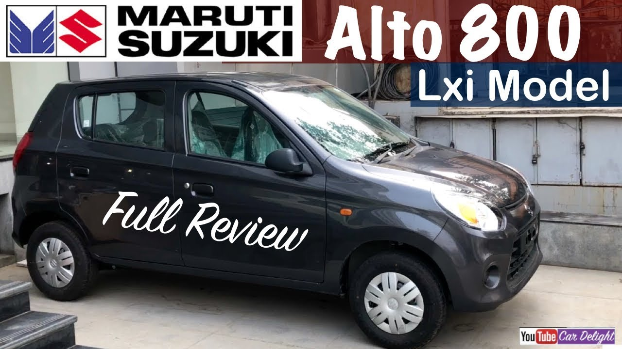 maruti alto 800 2017 lxi model interior exterior features review
