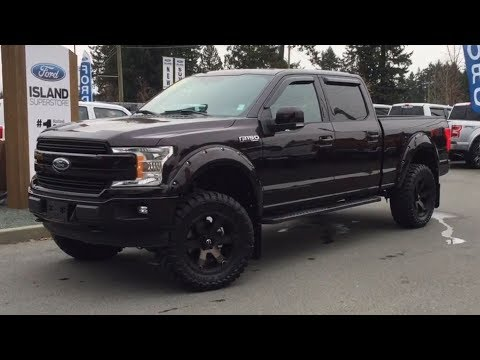 2018 Ford F-150 Lifted Lariat FX4 Sport 501A V8 SuperCrew Review| Island Ford