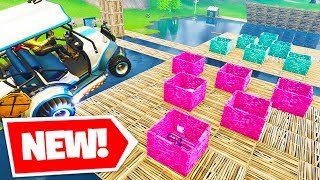 *NEW* FORTNITE PONG In Fortnite Battle Royale! | w/ Vikkstar123, KYRSp33dy, & Kenworth
