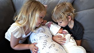 Emotional First Time Meeting Their Sister! *Name Reveal*