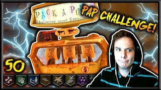 "🔴""TOWN"" ROUND 50 PACK A PUNCH CHALLENGE! 🔴(Black Ops 2 Zombies LIVE)"