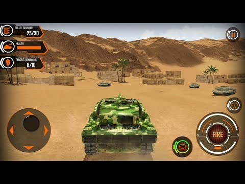 Army Tank Battle War Machines: Free Shooting Games Android Gameplay [FHD]