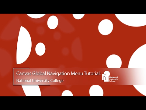 Canvas Global Navigation Menu Tutorial