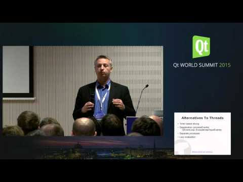 QtWS15- Creating multithreaded applications with Qt,  Bo Thorsen, Viking Software