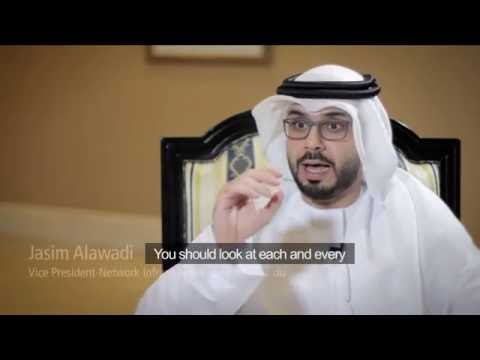 Interview with Jasim Alawadi, VP of Network Infrastructure & Services at du (with English subtitle)