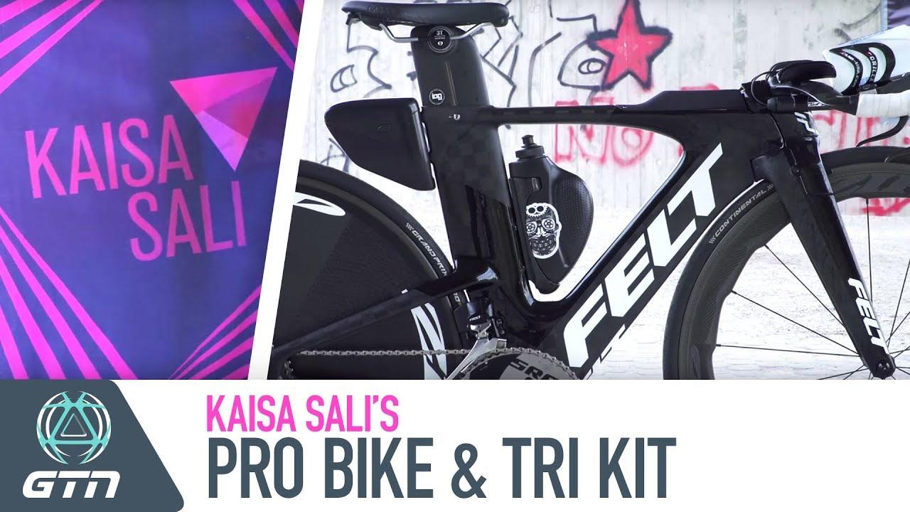 Kaisa Sali s Felt IA FRD Pro Bike   Triathlon Kit - YouTube 98f64098f