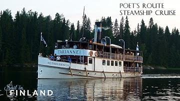 Steamship cruise Virrat-Tampere on-board s/s Tarjanne