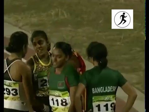 12th South Asian Games - 2016 100m Women's Final