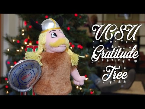 VCSU 2016 Holiday Greeting: Gratitude Tree