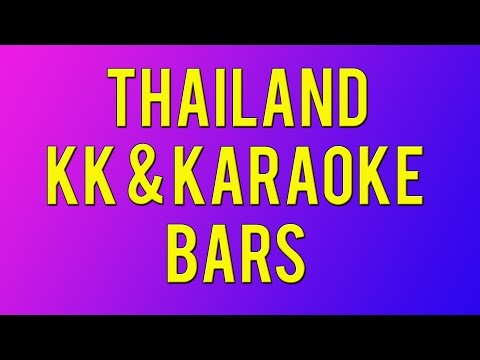 Thailand KK and Karaoke Bars Video 107