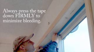 How to Use Blue Painter's Tape (House Painting Tips)