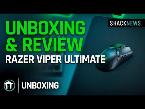 Unboxing & Review: Razer Viper Ultimate Wireless Gaming Mouse