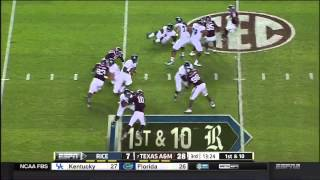 Texas A&m Vs Rice 2014 - Full No-huddle