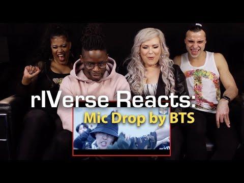 rIVerse Reacts: Mic Drop (Steve Aoki Remix) by BTS - M/V Reaction