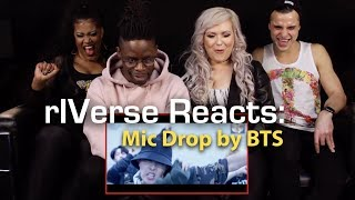 rIVerse Reacts: Mic Drop (Steve Aoki Remix) by BTS - M/V Reaction