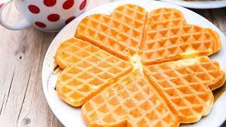 How to Make: Easiest Waffles