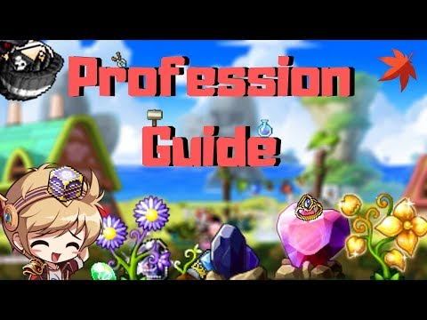 Maplestory Professions Guide!