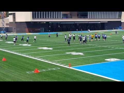 UCLA Football Practice 8-5-17