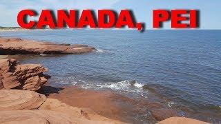 Пляж Кавендиш. Остров Принца Эдварада. Канада. Cavendish Beach. PEI. Canada 2018.