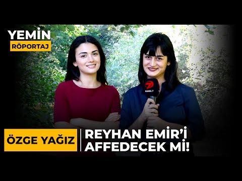 Reyhan, Emir'i Affedecek Mi ? | Yemin Dizisinin Reyhan'ı, Özge Yağız Sorularımızı Cevapladı