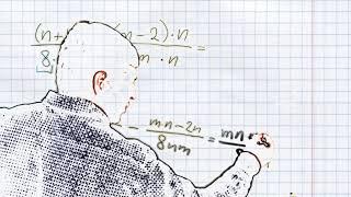 Сложение и вычитание алгебраических дробей с разными знаменателями #4