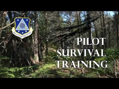 F-16 Aircrew Survival Training