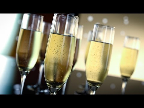 Create Realistic 3D Champagne Glasses With IRAY
