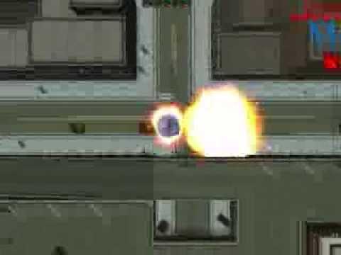 GTA2 flying saucer / UFO test