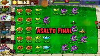 2.-plantas vs zombies 1( parte 2) carlos sg21