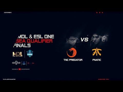 [DOTA 2 LIVE PH] TNC PREDATOR VS  FNATIC |Bo5|ESL One Birmingham 2018 Closed Qualifiers GRAND FINALS