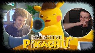 LIVE REACTION - Detective Pikachu English Reveal Trailer