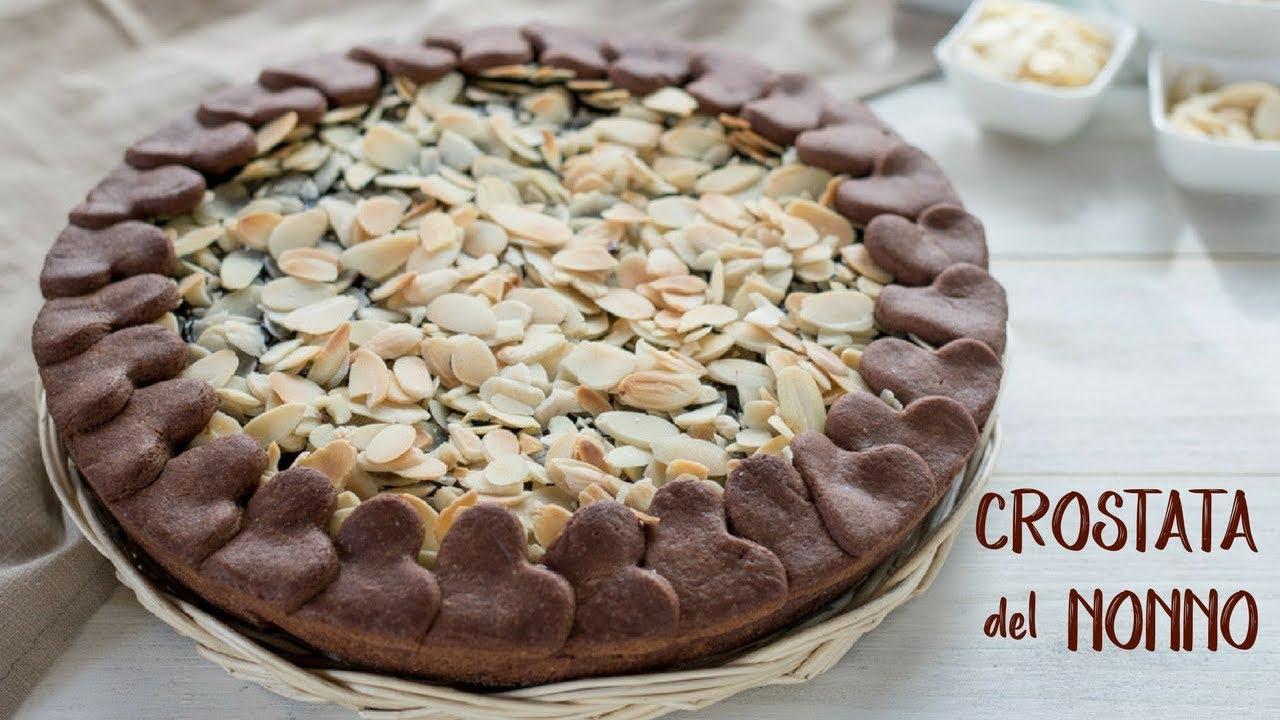Crostata Del Nonno Ricetta Facile Fatto In Casa Da Benedetta Youtube
