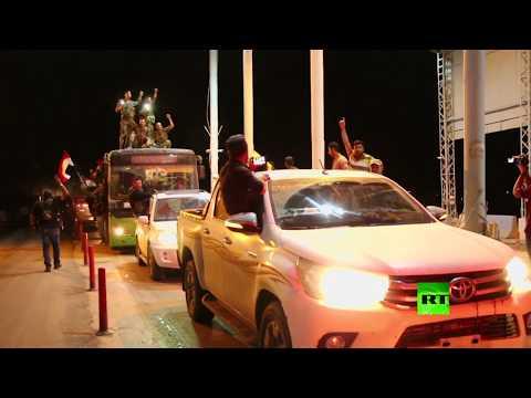 لحظة دخول الجيش السوري مدينة كوباني  - نشر قبل 1 ساعة