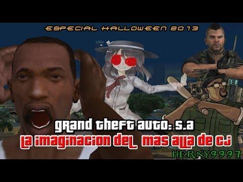 GTA San Andreas Loquendo Especial de Halloween 2013: La imaginación del mas allá de CJ