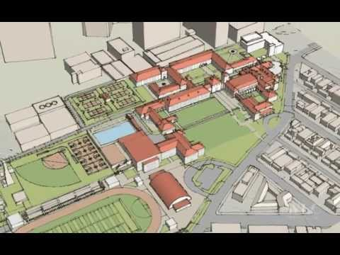 Beverly Hills High School Proposed Campus Concept Youtube