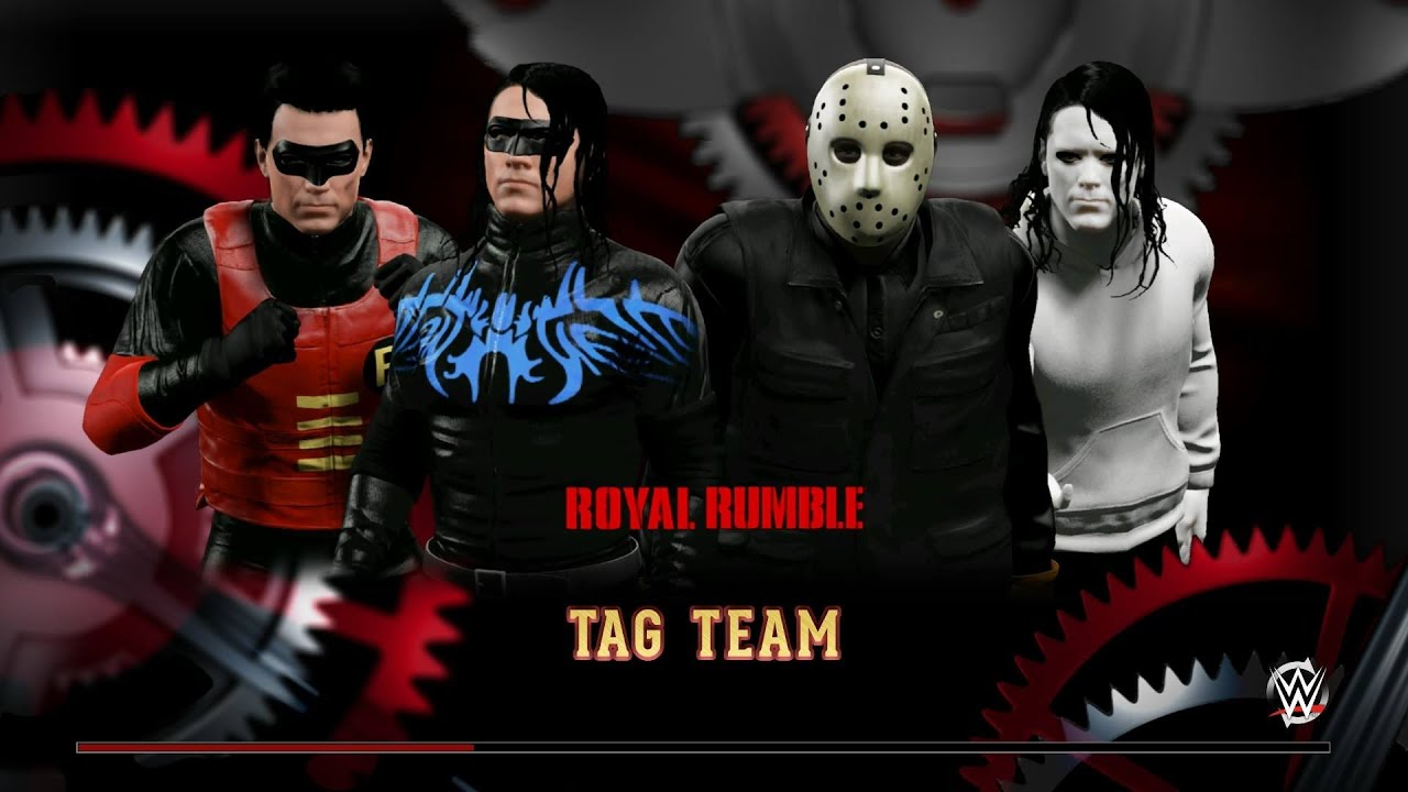 Wwe 2k15 Tag Team Nightwing Amp Robin V Jason Amp Jeff The